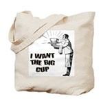 Big Coffee Cup Tote Bag