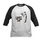 Big Coffee Cup Kids Baseball Jersey