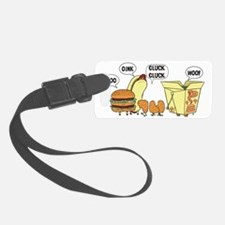 Chinese Cats and Dogs Luggage Tag