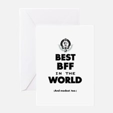 The Best in the World – BFF Greeting Cards