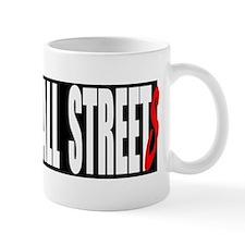 all streets black bumper Small Mug