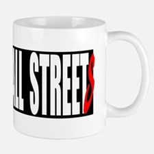 all streets black bumper Small Small Mug