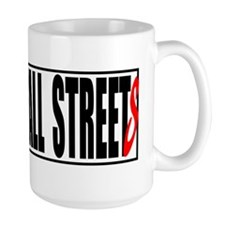 all streets white bumper Mug