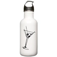 Martini_8Ball_9x12_fra Water Bottle