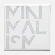 minimalism stacked HR Tile Coaster