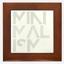 minimalism stacked HR Framed Tile