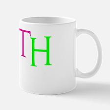 neon multi, Hebrew 11_1 Mug