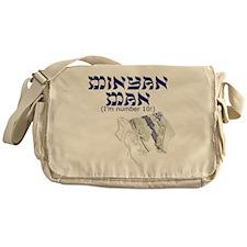 minyan-man Messenger Bag