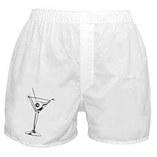 Martini_8Ball_5x3rect_sticker Boxer Shorts