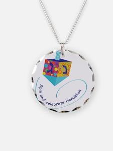 Hanukkah Dreidel Necklace