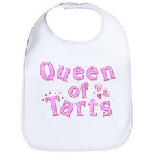 Queen of Tarts Bib