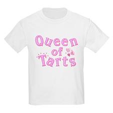Queen of Tarts Kids T-Shirt