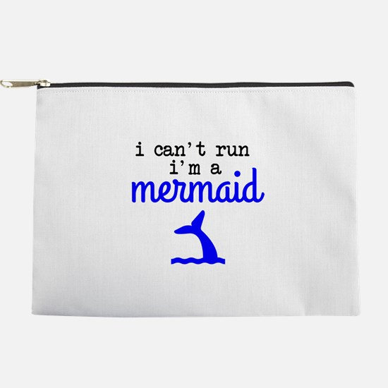 I Can't Run, I'm a Mermaid Makeup Pouch