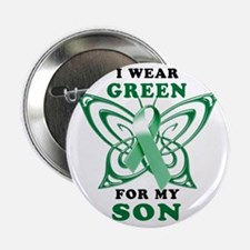 "I Wear Green for my Son 2.25"" Button"
