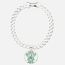 I Wear Green for my Son Bracelet
