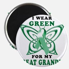 I Wear Green for my Great Grandpa Magnet