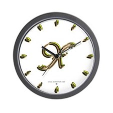 Phyllis Initial X Wall Clock