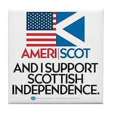 Ameri/Scot Tile Coaster
