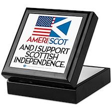 Ameri/Scot Keepsake Box
