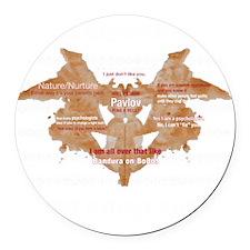 Im_a_psychologist Round Car Magnet