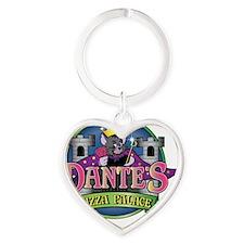dantes2 Heart Keychain