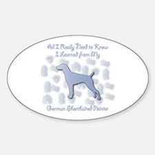 Learned Pointer Oval Decal