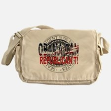obama CAN Rep cant 2 Messenger Bag