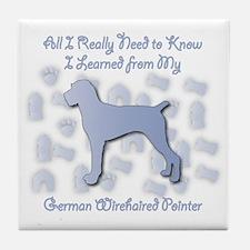 Learned Pointer Tile Coaster