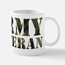 Army Veteran (black) Small Small Mug