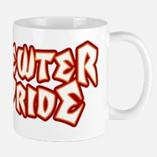 Pewter Pride (black) Mug