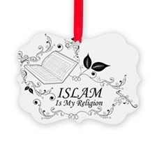 Islam Is My Religion illustration Ornament