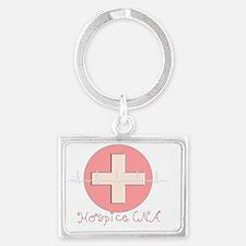 Hospice CNA Landscape Keychain