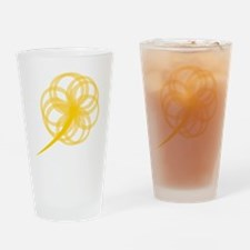 HopeLogoFlower Drinking Glass