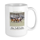 Polo horses Large Mugs (15 oz)