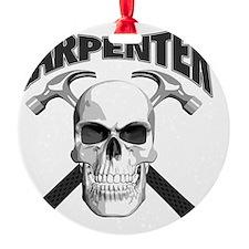 carpenter skull Ornament