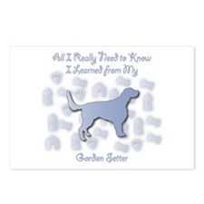 Learned Gordon Postcards (Package of 8)