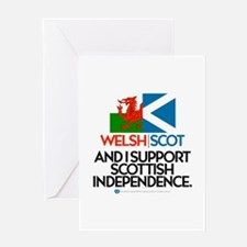 Welsh/Scot Greeting Card