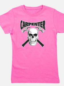 carpenter skull_blk Girl's Tee