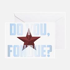 Fondue Greeting Card
