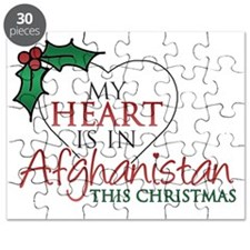my heart is in afghan xmas Puzzle