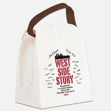 New West Side Canvas Lunch Bag