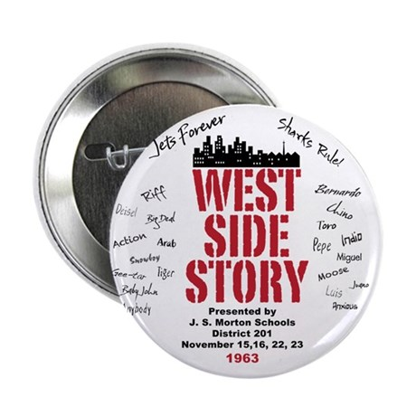 """New West Side 2.25"""" Button"""