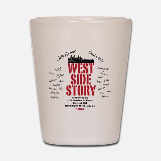 New West Side Shot Glass