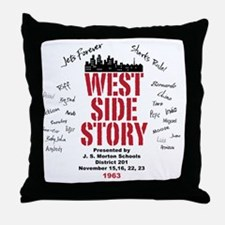 New West Side Throw Pillow
