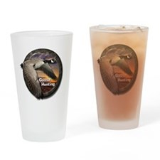 Goose Hunting Drinking Glass