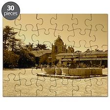 carmelmissionblackframe Puzzle