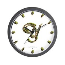 Phyllis Initial Y Wall Clock
