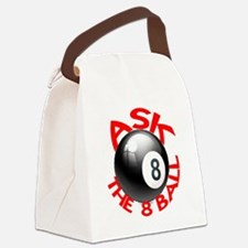 ASK THE 8 BALL Canvas Lunch Bag