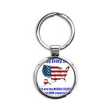 usoccupy1 Round Keychain
