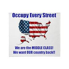 usoccupy1 Throw Blanket